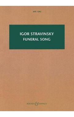 Funeral Song, Op. 5: Hawkes Pocket Score 1592