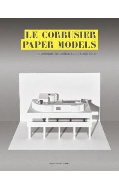 Le Corbusier Paper Models: 10 Kirigami Buildings to Cut and Fold