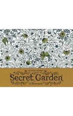 Secret Garden: 12 Notecards