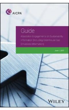 AICPA Guide Attestation Engagements on Sustainability Information