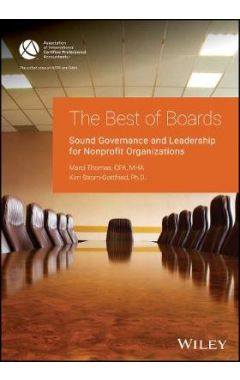 Best of Boards - Sound Governance and Leadership For Nonprofit Organizations