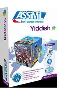 Yiddish with Ease: Super Pack (Livre + 4 CD Audio + 1 CD MP3)
