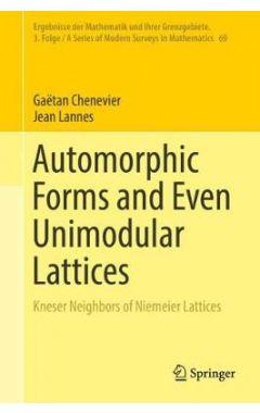 Automorphic Forms and Even Unimodular Lattices