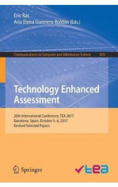Technology Enhanced Assessment: 20th International Conference, TEA 2017, Barcelona, Spain, October 5