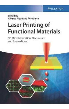 Laser Printing of Functional Materials - 3D Microfabrication, Electronics and Biomedicine