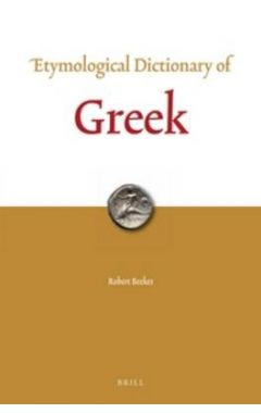 Etymological Dictionary of Greek (2 vols)
