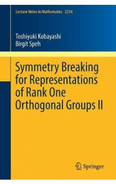 2234 Lct. Nts Math - Symmetry Breaking for Representations of Rank One Orthogonal Groups II
