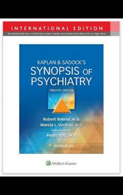 Kaplan & Sadock's Synopsis of Psychiatry 12e IE