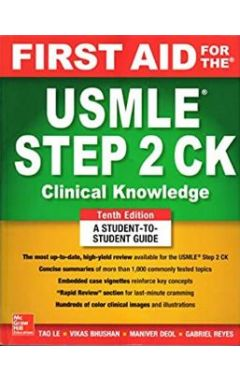 First Aid For The Usmle Step 2 Ck 10e IE